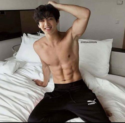 Jungkook Shirtless
