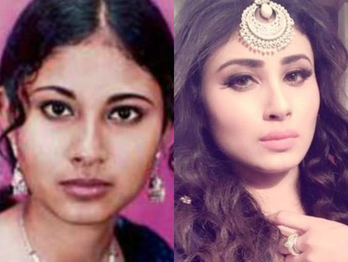 mouni roy old pictures