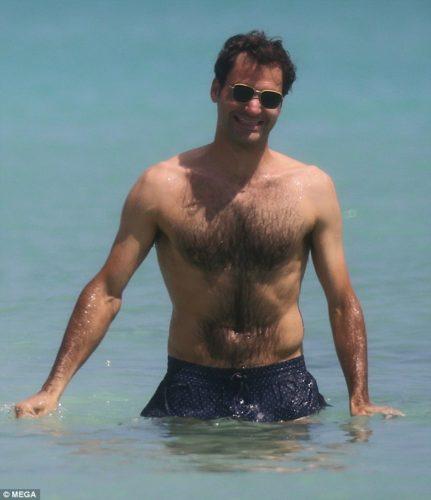 roger federer shirtless 4